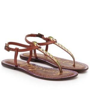 Sam Edelman Shoes - Sam Edelman Gigi Painted Tribal Print Sandal NWT